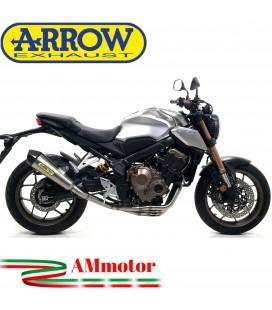 Terminale Di Scarico Arrow Honda CB 650 R 19 - 2020 Slip-On X-Kone Moto