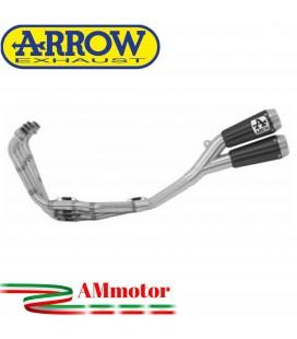 Arrow Honda CB 650 R 19 - 2020 Kit Completo Con Terminali Pro-Race Nichrom Dark