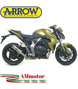Terminale Di Scarico Arrow Honda CB 1000 R 08 - 2016 Slip-On Street Thunder Titanio Moto Fondello Carbonio