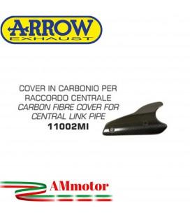 Protezione Paracalore Arrow Honda CB 1000 R 08 - 2016 Moto Cover In Carbonio Per Raccordo