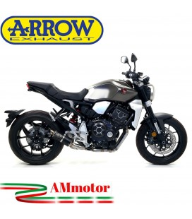 Terminale Di Scarico Arrow Honda CB 1000 R 18 - 2020 Slip-On GP2 Dark Moto