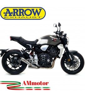Terminale Di Scarico Arrow Honda CB 1000 R 18 - 2020 Slip-On Pro-Race Nichrom Moto