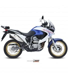 Honda Xlv Transalp 700 Mivv Tubo Elimina No Kat Catalizzatore Moto Collettore Di Scarico