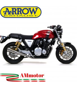 Terminali Di Scarico Arrow Honda CB 1100 EX / RS 17 - 2020 2 Slip-On Pro-Racing Nichrom Moto