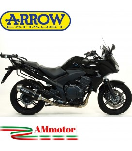 Terminale Di Scarico Arrow Honda Cbf 1000 / Cbf 1000 ST 10 - 2013 Slip-On Race-Tech Alluminio Dark Moto