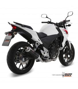 Mivv Honda Cb 500 F / X Terminale Di Scarico Marmitta Gp Black Moto Omologato
