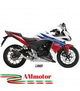 Mivv Honda Cbr 500 R Terminale Di Scarico Marmitta Gp Black Moto Omologato
