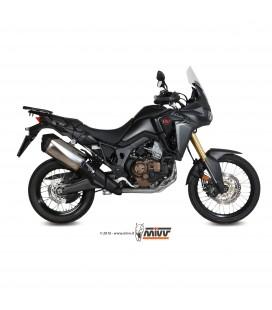 Honda Crf 1000 L Africa Twin Collettori Di Scarico Mivv Tubo Elimina Kat Catalizzatore Moto Per Scarico Originale