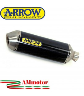 Terminale Di Scarico Arrow Honda Cbr 600 F 01 - 2007 Slip-On Race-Tech Carbonio Moto