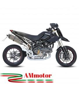 Mivv Ducati Hypermotard 1100 Terminale Di Scarico Marmitta Suono Inox Moto