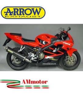 Terminale Di Scarico Arrow Honda Cbr 600 F Sport 01 - 2003 Slip-On Race-Tech Carbonio Moto