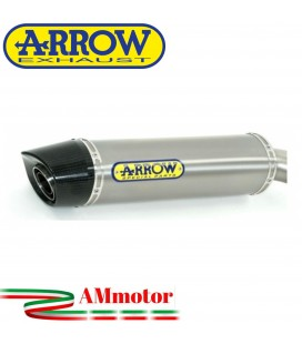 Terminale Di Scarico Arrow Honda Cbr 600 RR 07 - 2008 Slip-On Indy-Race Alluminio Moto Fondello Carbonio