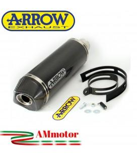 Terminale Di Scarico Arrow Honda Cbr 600 RR 07 - 2008 Slip-On Indy-Race Carbonio Moto Fondello Carbonio