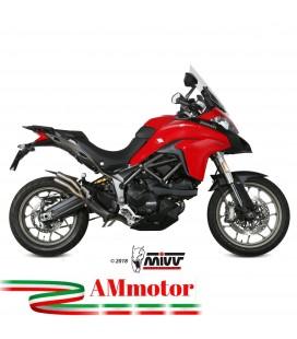 Mivv Ducati Multistrada 950 Terminale Di Scarico Marmitta Double Gun Titanio Moto