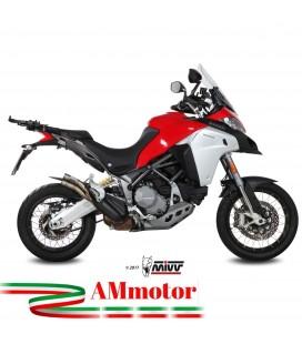 Mivv Ducati Multistrada 1200 Enduro Terminale Di Scarico Marmitta Double Gun Titanio Moto