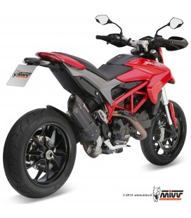 Mivv Ducati Hypermotard 821 Terminale Di Scarico Marmitta Suono Black Moto
