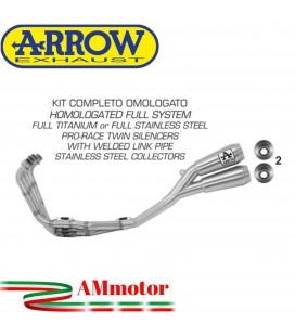 Arrow Honda Cbr 650 R 19 - 2020 Kit Completo Con Terminali Pro-Race In Titanio