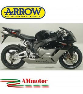 Terminale Di Scarico Arrow Honda Cbr 1000 RR 04 - 2005 Slip-On Maxi Race-Tech Titanio Moto