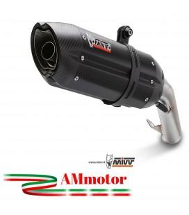 Mivv Ducati Hyperstrada 821 Terminale Di Scarico Marmitta Suono Black Moto