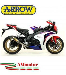 Terminale Di Scarico Arrow Honda Cbr 1000 RR 08 - 2011 Slip-On GP2 Titanio Moto