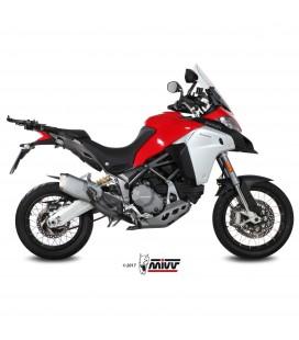 Ducati Multistrada 1200 Enduro Mivv Tubo Elimina Kat Catalizzatore Moto Collettore Di Scarico