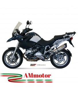 Mivv Bmw R 1200 Gs 08 2009 Terminale Di Scarico Moto Marmitta Suono Inox Omologato