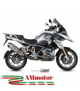 Mivv Bmw R 1200 Gs Terminale Di Scarico Marmitta Speed Edge Titanio Moto Omologato