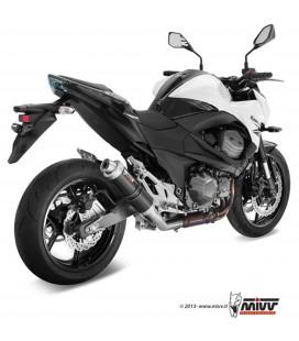 Mivv Kawasaki Z 800 E Terminale Di Scarico Marmitta Gp Black Moto Omologato