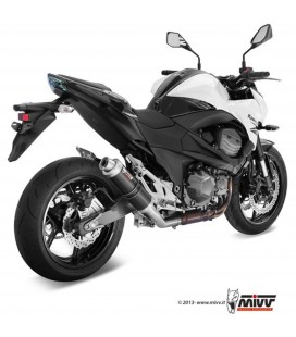 Mivv Kawasaki Z 800 E Terminale Di Scarico Moto Marmitta Gp Black Omologato