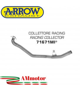 Honda X-Adv 750 17 - 2020 Arrow Moto Collettore Di Scarico Racing