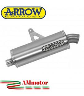 Terminale Di Scarico Arrow Honda Africa Twin Adv Sports 18 - 2019 Slip-On Maxi Race-Tech Alluminio Moto