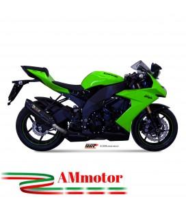 Mivv Kawasaki Zx-10 R Terminale Di Scarico Marmitta Suono Black Moto Omologato