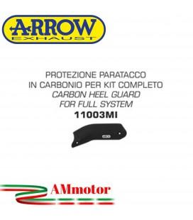 Protezione Paracalore Honda Crf 1000L Africa Twin 16 - 2019 In Carbonio Per Kit Completo 72021PO