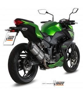 Mivv Kawasaki Z 300 Terminale Di Scarico Moto Marmitta Suono Inox Omologato