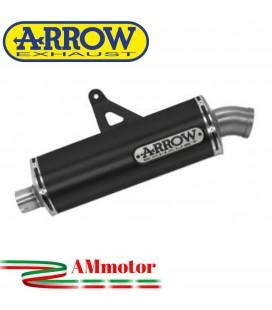 Terminale Di Scarico Arrow Honda Crf 1100L Africa Twin 2020 Slip-On Maxi Race-Tech Alluminio Dark Moto