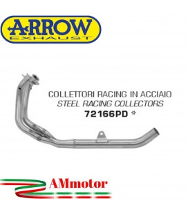 Honda Crf 1100L Africa Twin 2020 Arrow Moto Collettori Di Scarico Racing In Acciaio