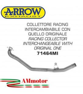 Honda NC 700 X 12 - 2013 Arrow Moto Collettore Di Scarico Racing