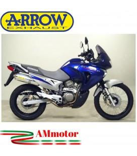 Terminale Di Scarico Arrow Honda Transalp 650 00 - 2007 Slip-On Race-Tech Alluminio Moto