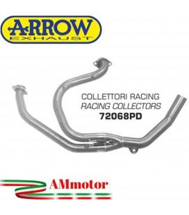 Honda Transalp 650 00 - 2007 Arrow Moto Collettori Di Scarico Racing In Acciaio