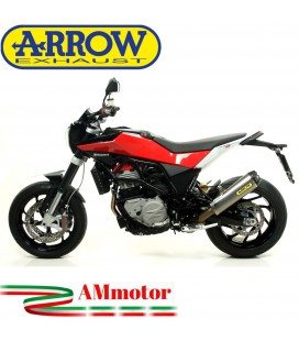 Terminale Di Scarico Arrow Husqvarna Nuda 900 / Nuda 900 R Slip-On Works Titanio Moto