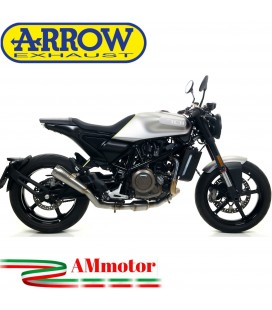 Terminale Di Scarico Arrow Husqvarna Vitpilen 701 18 - 2019 Slip-On Pro-Race Nichrom Moto