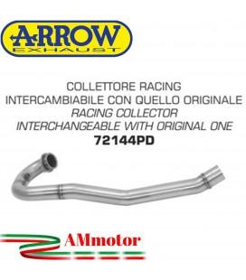 Husqvarna 701 Enduro / Supermoto 17 - 2020 Arrow Moto Collettore Di Scarico Racing In Acciaio