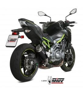 Mivv Kawasaki Z 900 Terminale Di Scarico Marmitta Gp Pro Black Moto Omologato
