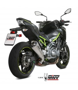 Mivv Kawasaki Z 900 Terminale Di Scarico Marmitta Delta Race Inox Moto Omologato
