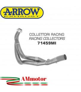 Kawasaki ER-6N 12 - 2016 Arrow Moto Collettori Di Scarico Racing In Acciaio
