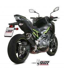 Mivv Kawasaki Z 900 Terminale Di Scarico Marmitta Delta Race Black Moto Omologato