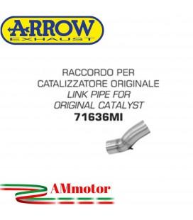 Raccordo Kawasaki ZX-10R 16 - 2019 Arrow Moto Per Terminali Arrow Su Catalizzatore Orig