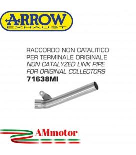 Raccordo Kawasaki ZX-10R 16 - 2019 Arrow Moto Per Terminali Originali Non Catalitico