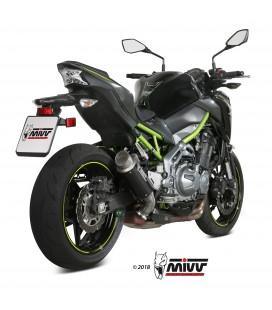 Mivv Kawasaki Z 900 Terminale Di Scarico Marmitta Gp Pro Carbonio Moto Omologato