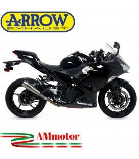 Terminale Di Scarico Arrow Kawasaki Ninja 400 18 - 2020 Slip-On Pro-Race Nichrom Moto